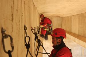 Harnais, câbles de sécurité anti-chutes